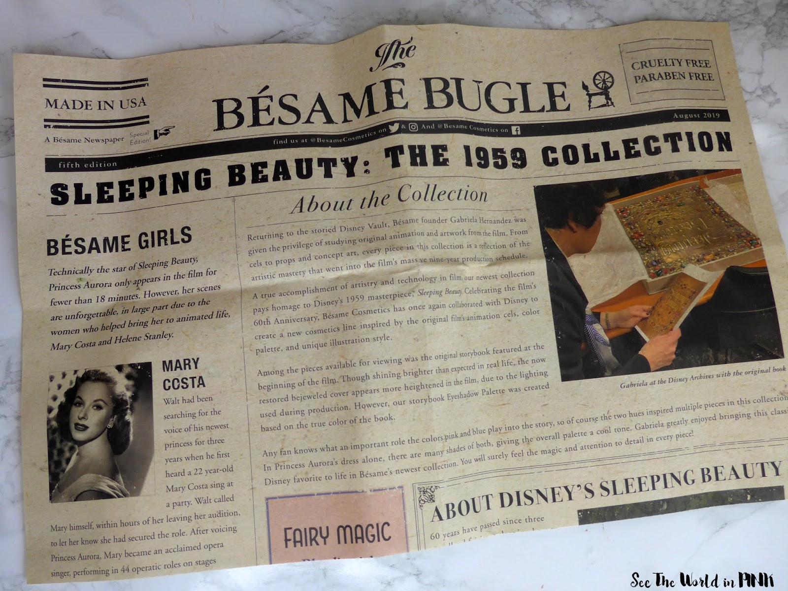 Besame Sleeping Beauty Collection