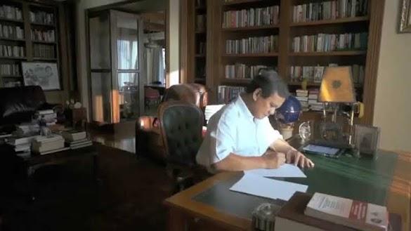 Bukan Surat Wasiat Lagi, Tapi Surat Cinta Prabowo