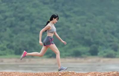 olahraga berlari