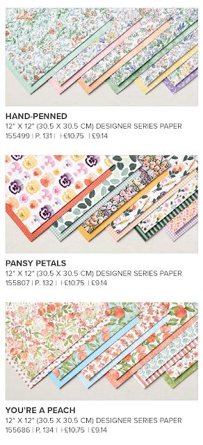 Stampin Up Designer Series Paper Sale 2021