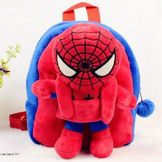 Tas Boneka Karakter Spiderman Lepas