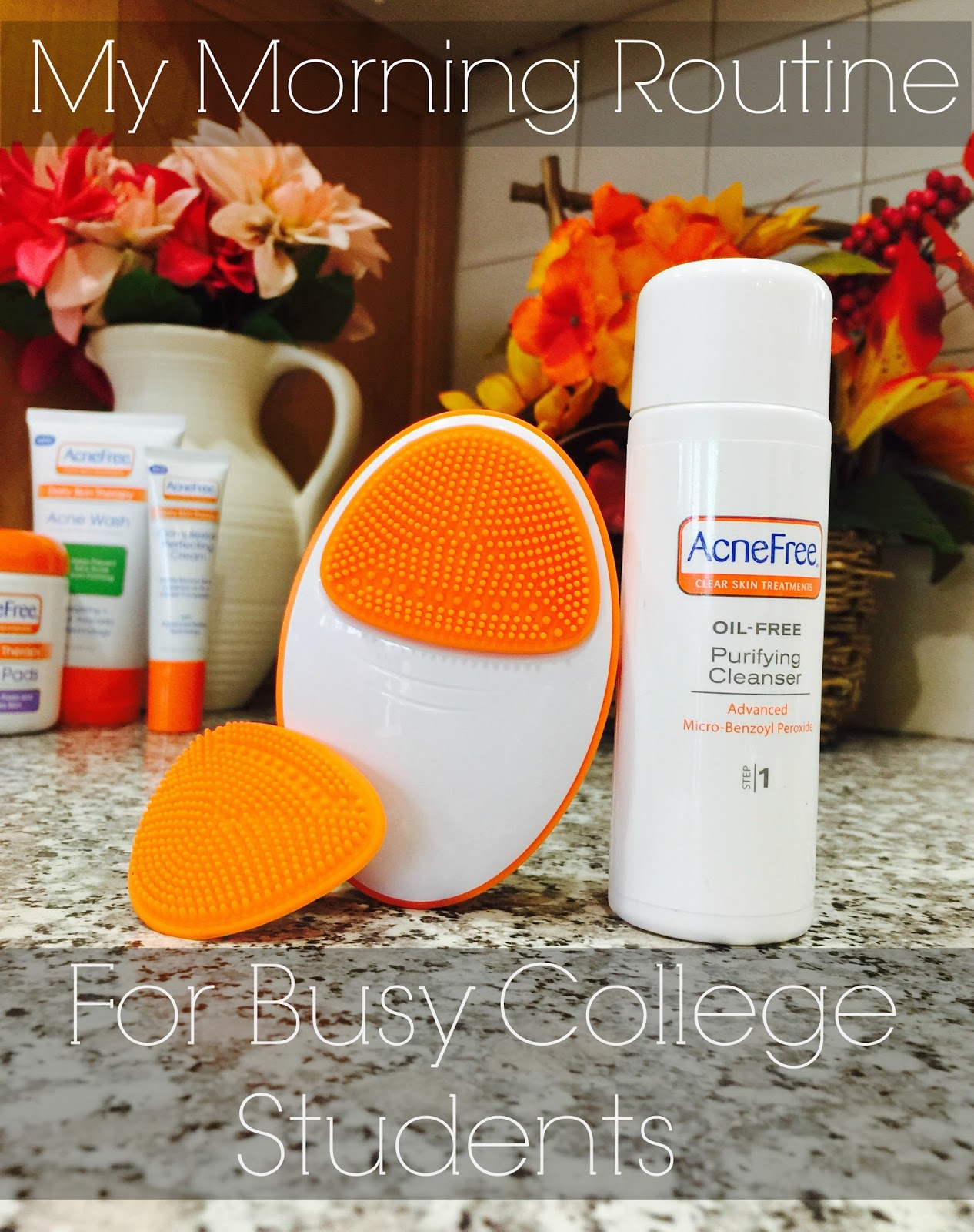 acnefree, acnefree review, morning beauty routine, morning routine with acnefree,