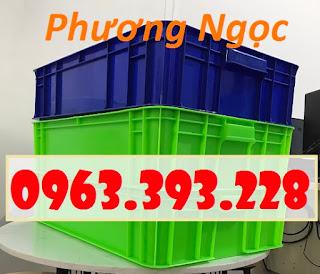 Thùng nhựa cao 15, thùng nhựa đặc HS007, thùng nhựa có nắp 01bceab6e4211f7f4630