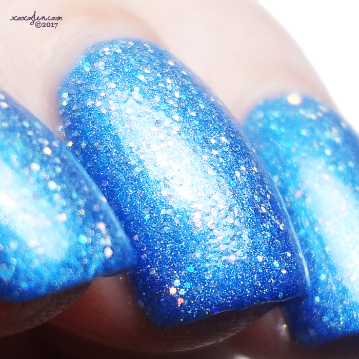 xoxoJen's swatch of Literary Lacquers Curiouser and Curiouser