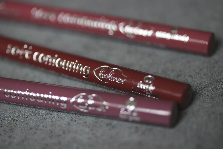 essence soft contouring lipliner swatches review