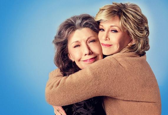 assistir serie Grace And Frankie netflix idosas gays terceira idade lily tomlin jane fonda