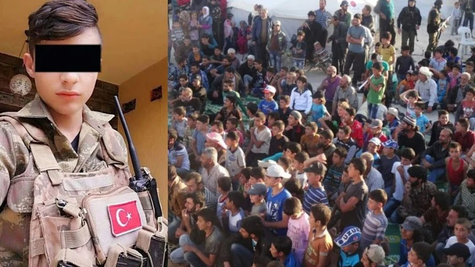 Μισθοφόροι παιδιά-σκλάβοι της Τουρκίας!