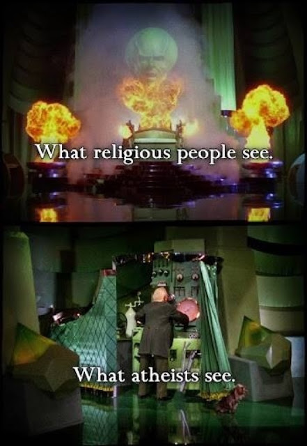 What Religious and Atheist People See Funny Religious Meme