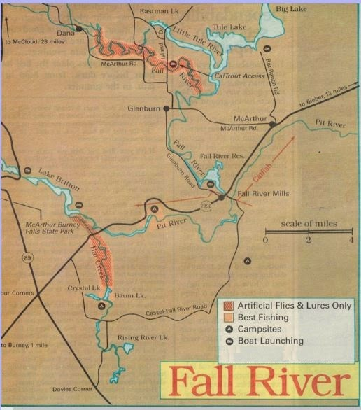 how to fish fall river