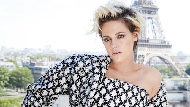 Kristen Stewart Eiffel Tower Wallpaper