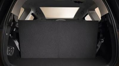Renault Grand Scenic coffre intérieur avec 7 sièges places