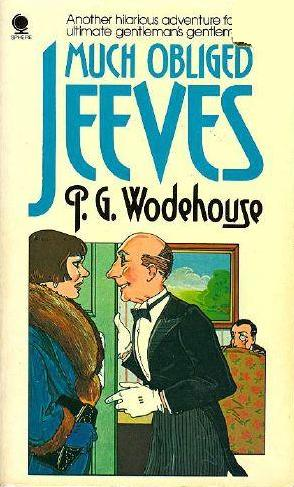 P.G. Wodehouse - Much obliged, Jeeves -kirjan kansi