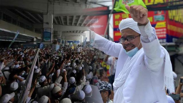 FPI: Negara Krisis Luar Biasa, Habib Rizieq Pimpin Kebangkitan