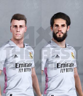 PES 2021 Faces Antonio Blanco & Isco by AXL