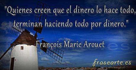 Frases sobre el dinero, François Marie Arouet
