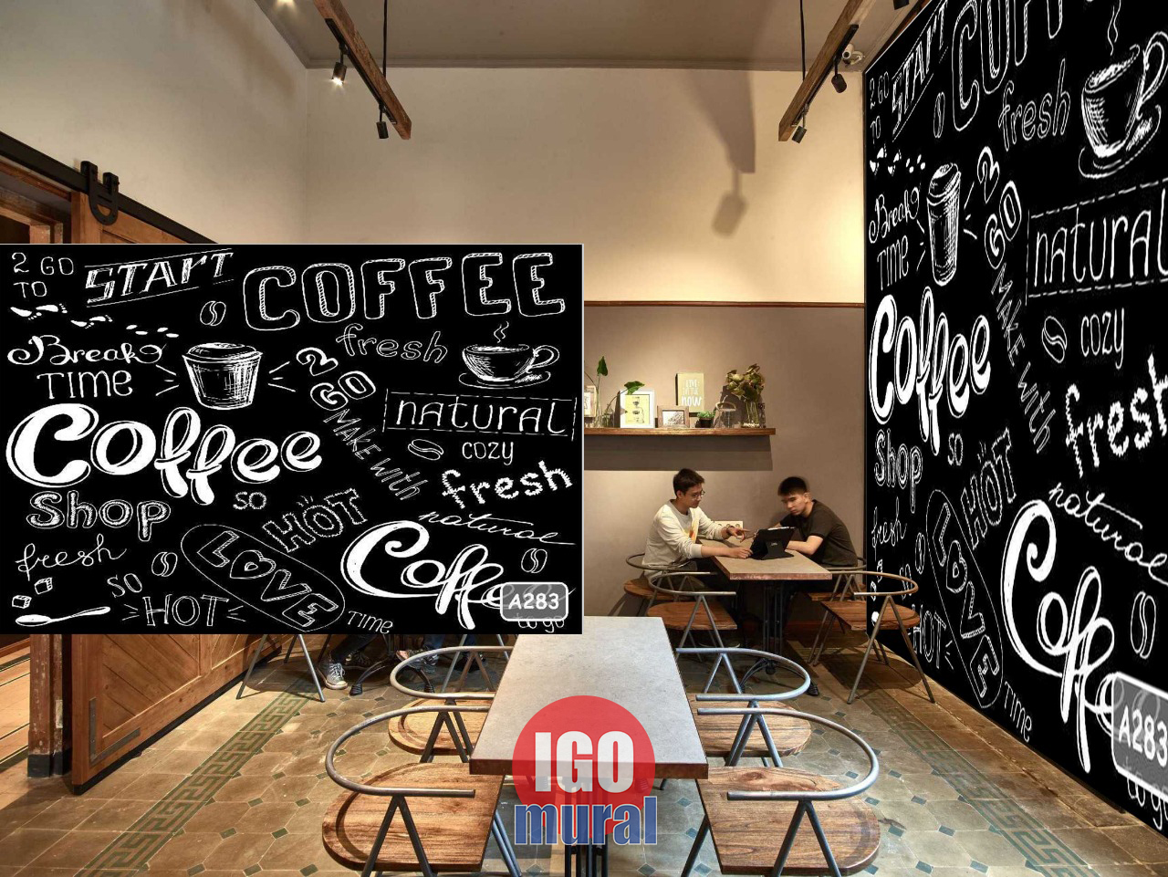 Wallpaper warung kopi