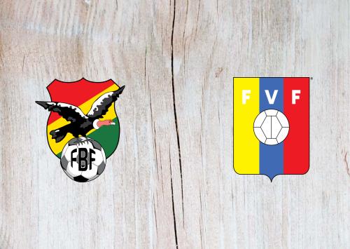 Bolivia vs Venezuela -Highlights 03 June 2021
