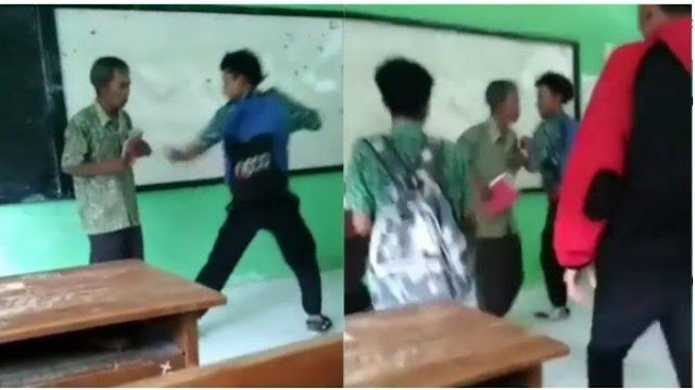 Video Viral Murid SMK NU 3 Kaliwungu Tendang Guru, Pihak Sekolah Sebut Hal Itu Hanya Bercanda