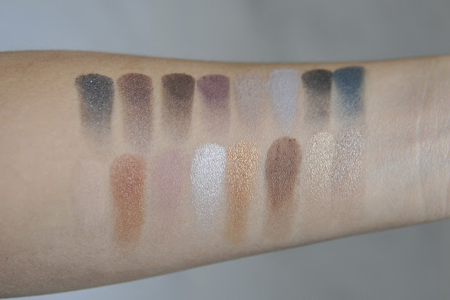 Sephora Collection the Graceful Eyeshadow Palette Swatches