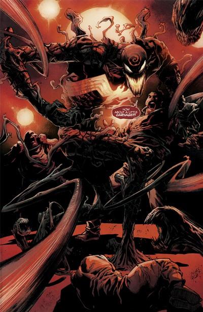 En Absolute Carnage, el villano se convirtió en Dark Carnage