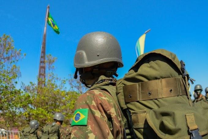 Exército brasileiro intercepta cinco militares venezuelanos em Roraima