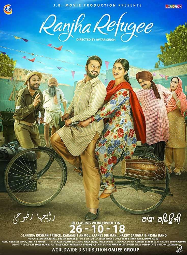 Ranjha Refugee 2018 Full Punjabi Movie Download Hd In pDVDRip