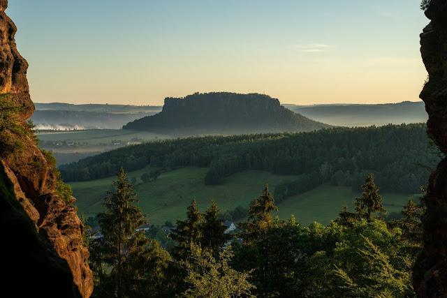 Malerweg Etappe 7 | Von Kurort Gohrisch bis Weißig | Wandern Sächsische Schweiz | Pfaffenstein – Festung Königstein 01