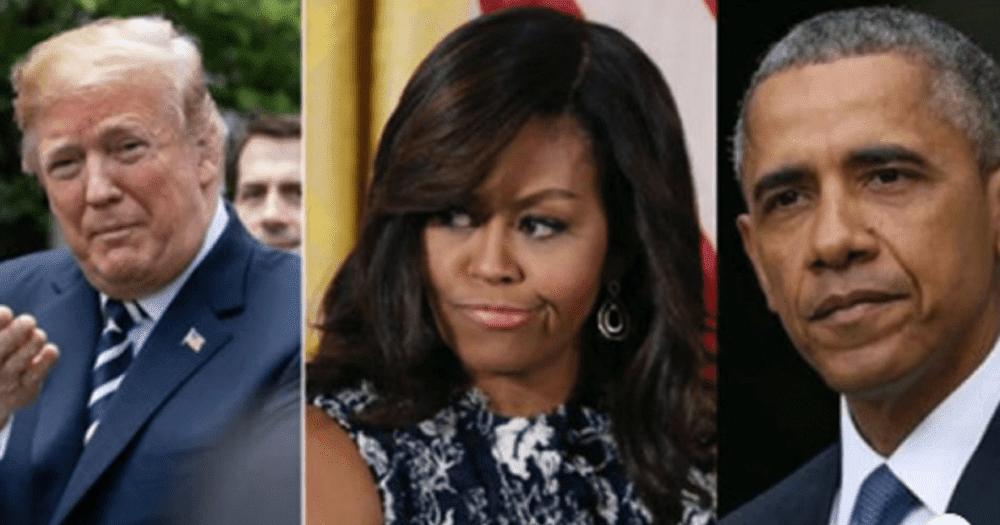 It Begins: Trump Demands Congress Investigate Barack and Michelle Obama's Deals