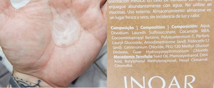 Shampoo Inoar Macadâmia Composição