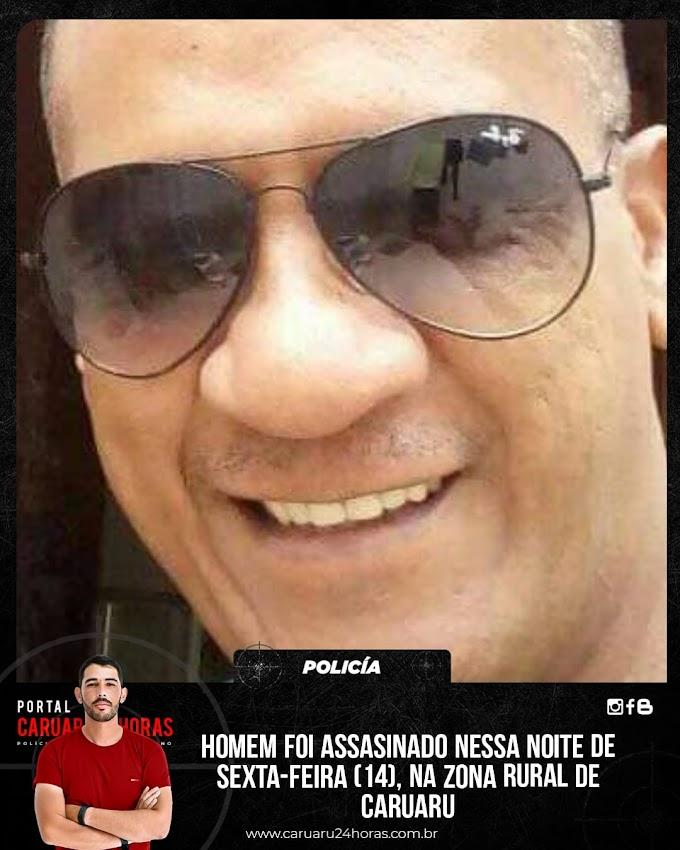 Caruaru registrou um homicidio nessa noite de sexta-feira, no sítio Cachoeira Seca