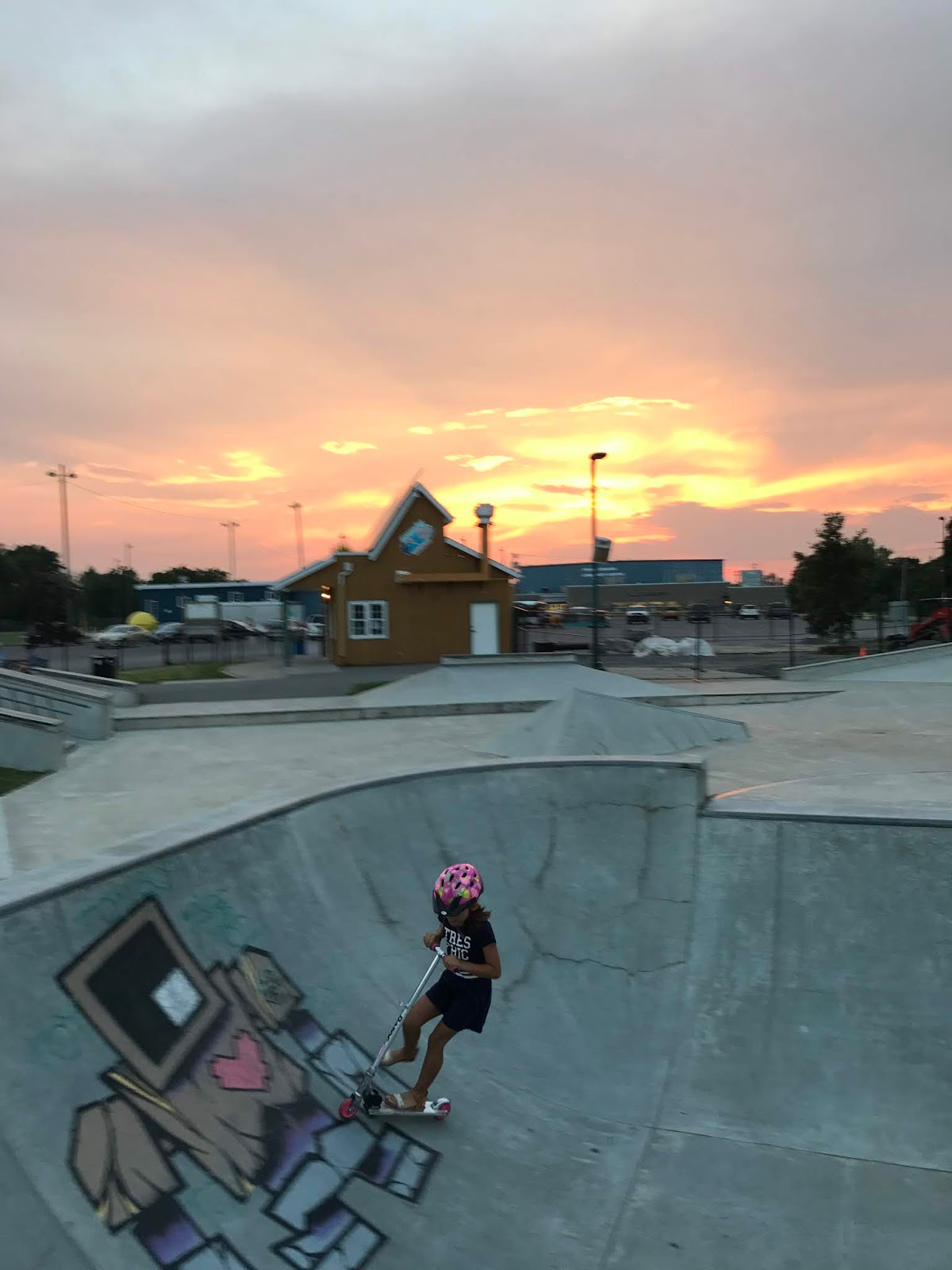 picton skate park, prince edward county family resort, pec cottage, prince edward county with kids