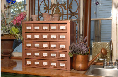 small cabinet with drawers distractions copper highlights 26314