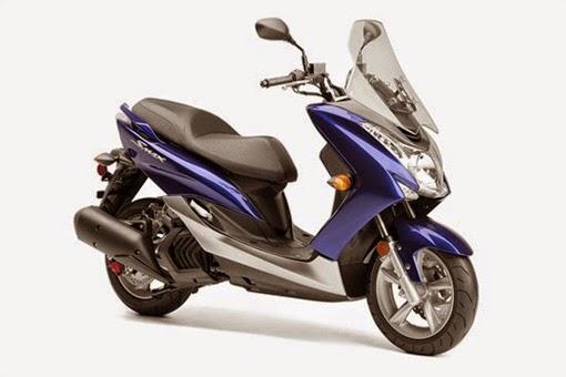 2015 Yamaha SMAX Ultramarine Blue