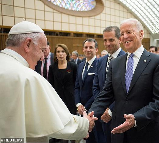 Pope congratulates Joe Biden in phone call