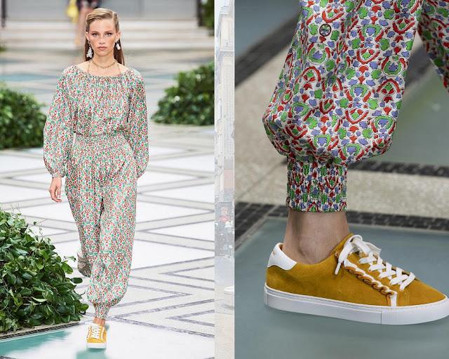 Модное шоу Tory Burch весна-лето 2020 2