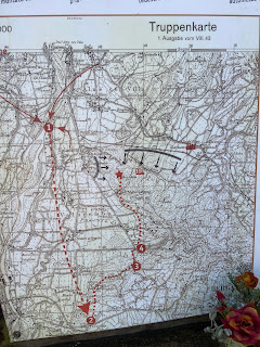 Information about the men killed and their route that led them to the hills.
