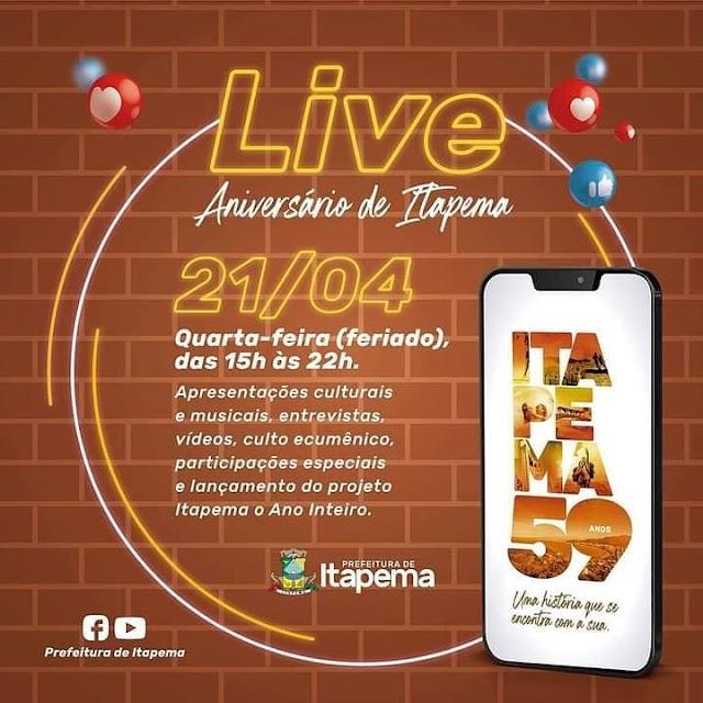 Aniversário 59 anos de Itapema