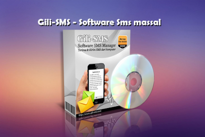 Gili-SMS | Software SMS Massal (Full Version)