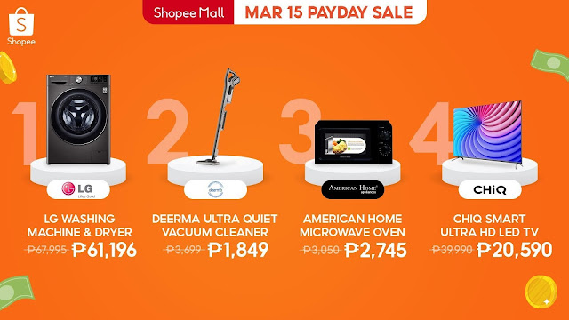 Shopee's 3.15 Payday Sale