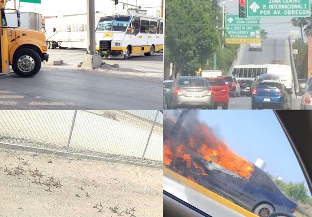 Líderes del narco en Tamaulipas tiene miedo y por tal motivo arman Narcobloqueos