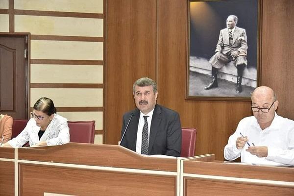 Anamur Belediyesi Meclis Salonu Balon Balığı Tehlikesi Konuşması