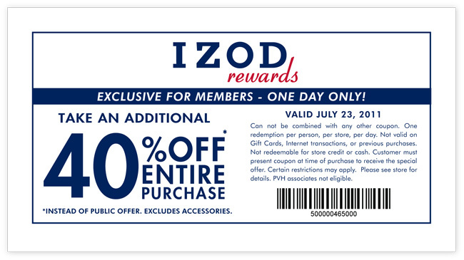 izod in store printable coupons