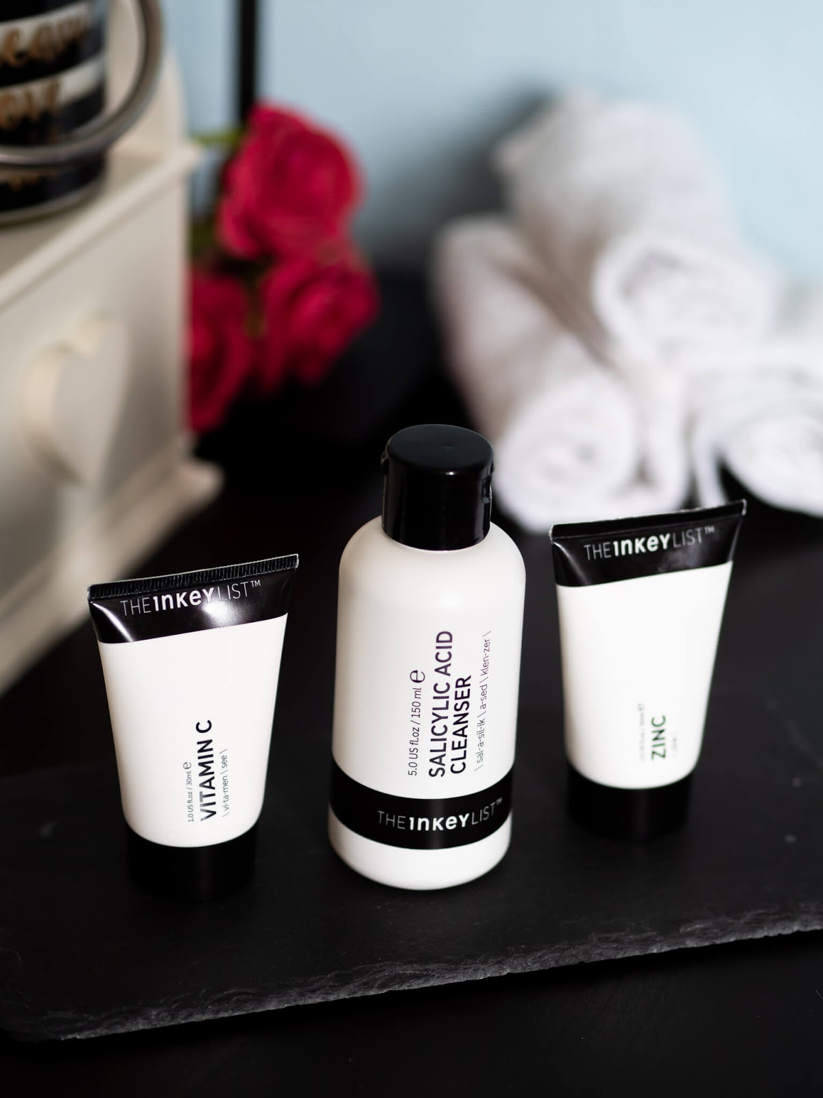 The Inkey List skincare