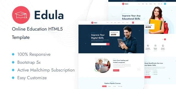 Best Online Education HTML5 Template