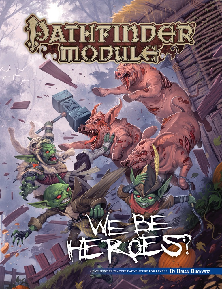 Reviews from R'lyeh: Free RPG Day 2019: We Be Heroes?