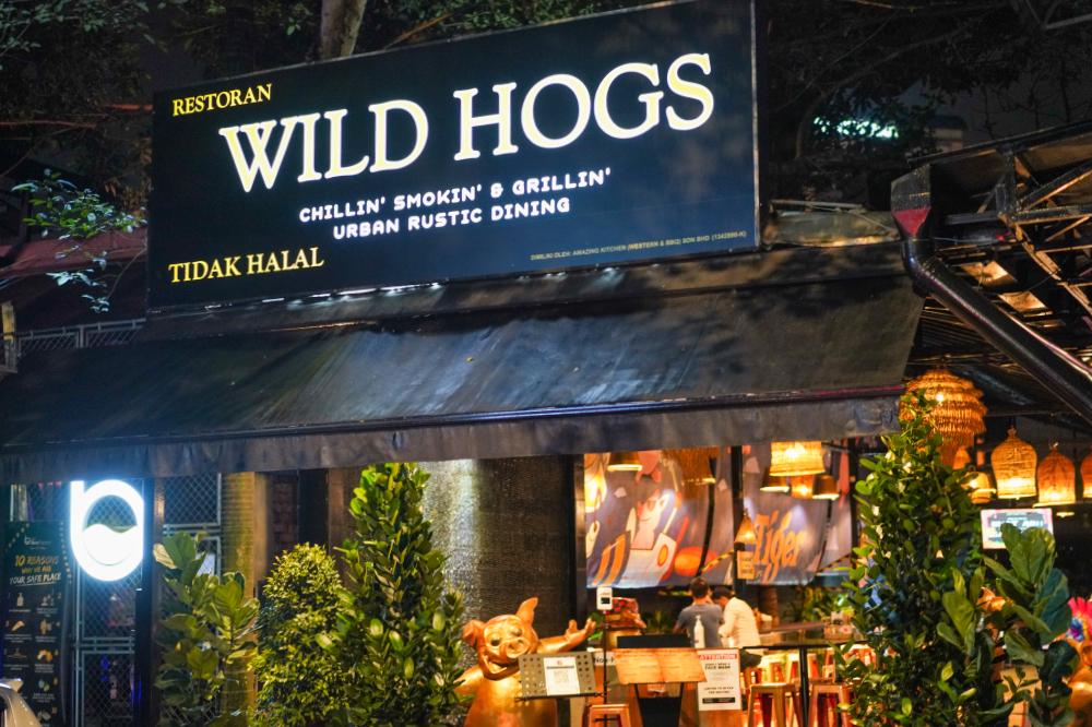 wild hogs, desa sri hartamas