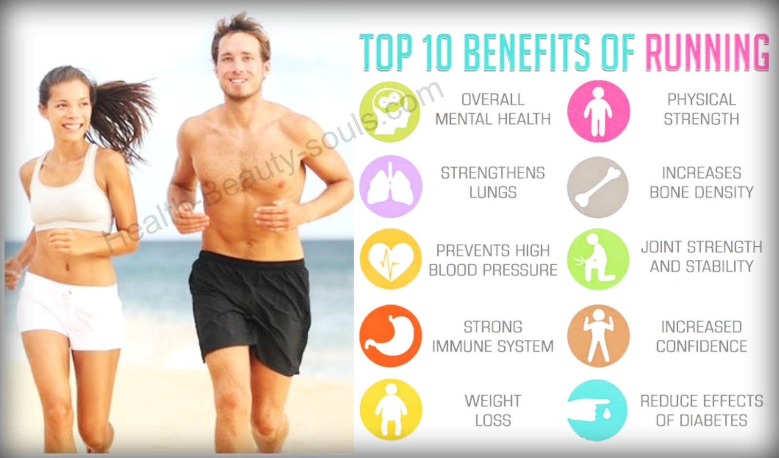 Health And Beauty Souls: Top ten running benefits- Weight ...