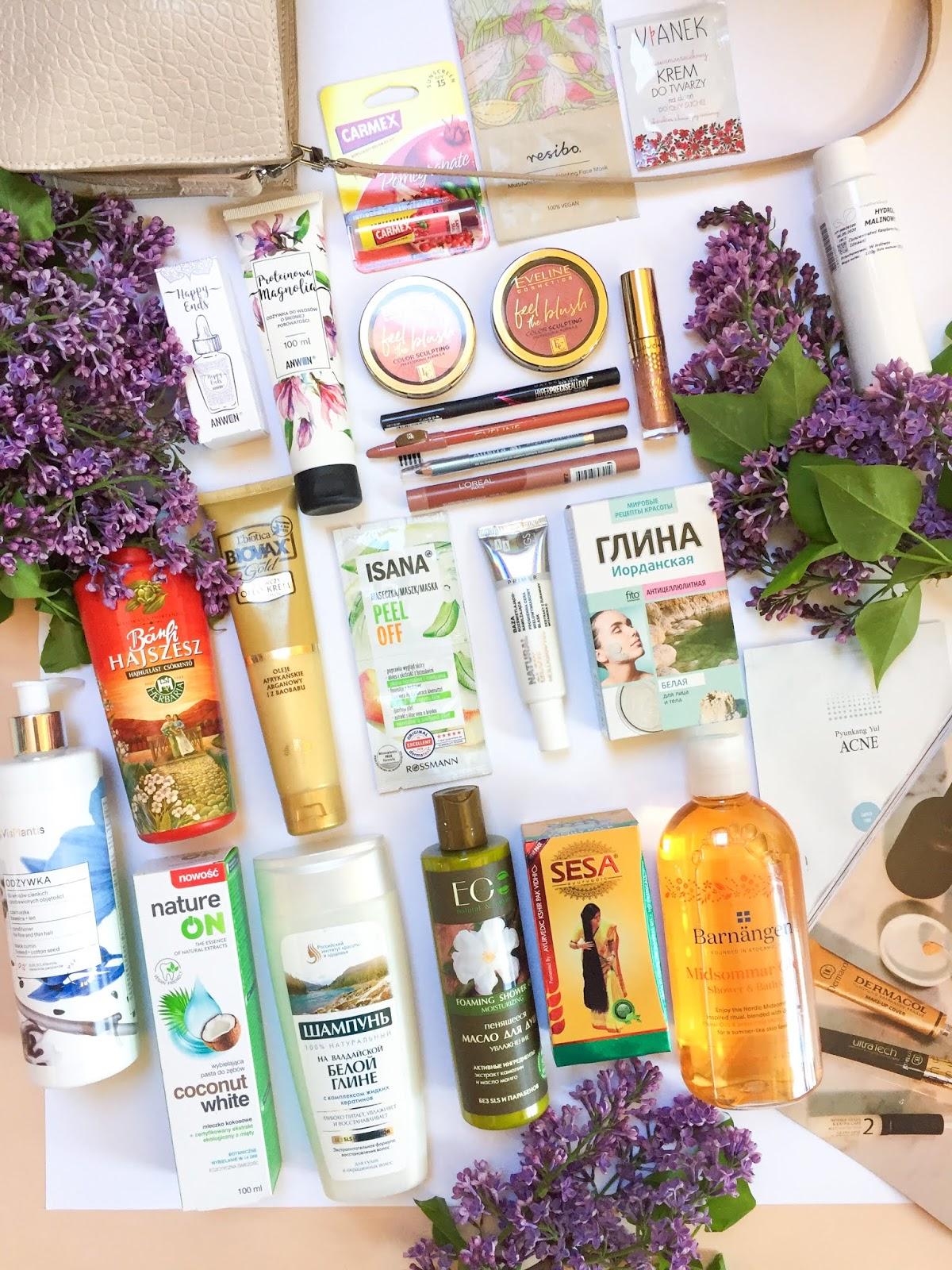 Nowości maja pielęgnacja i kolorówka - zaczynam świadomą pielęgnację włosów | Vis Plantis, Anwen, Eveline, Sesa, Alterra i inne