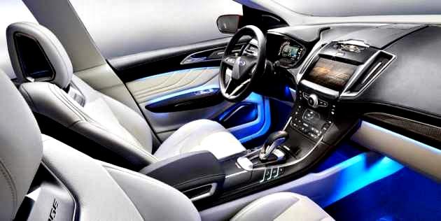 Ford Edge Titanium 2017 interior