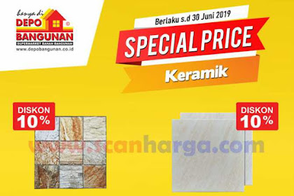 Katalog Promo DEPO BANGUNAN Terbaru Hingga 30 Juni 2019